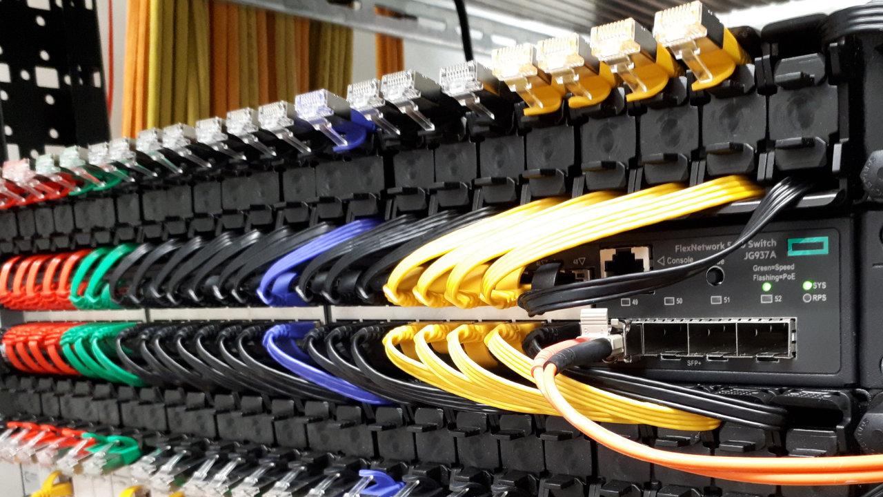 Custom PATCHBOX Cable Management Network Cabinet Rack