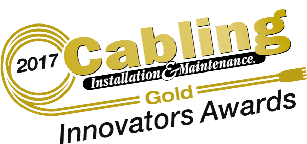 Cabling Installation & Maintenance Innovators Gold Award 2017